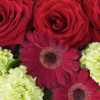 Heavenly Red Rose Hand tied 02
