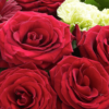 Heavenly Red Rose Hand tied 03