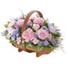 Mixed Basket Pink and Lilac 01
