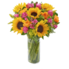 Sunflower Hand tied 04