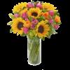 Sunflower Hand tied 04