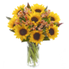 Sunflower Hand tied 06